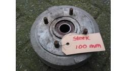 Remtrommel achter steek 100 mm