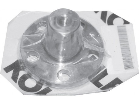 Conical flange motor coupling fixing