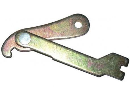 Handrem mechanisme (links)