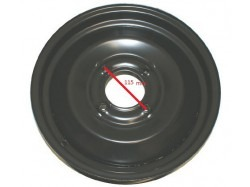 "Stalen velg 13"" steek 115 mm Microcar / JDM"
