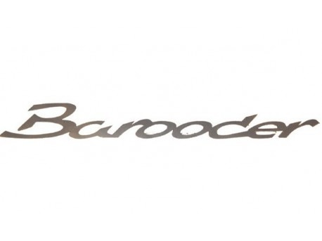 Chatenet Barooder sticker zilver