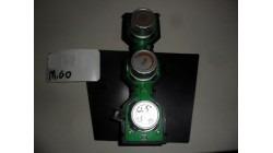 Bedieningspaneel (kachelknoppen) Microcar M.Go