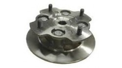 Microcar Virgo brake disc with wheel hub