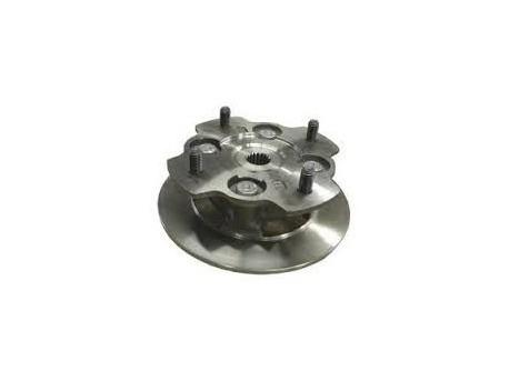 Microcar Virgo brake disc with wheel hub
