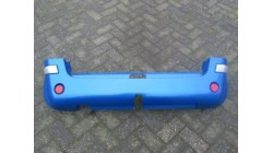 Rear bumper (for trailer hitch), dark blue Microcar MC1 & MC2
